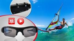 Zľava 60%: DVR slnečné okuliare so zabudovanou mikro kamerou len za 23,99 €. Zachyťte všetky vaše letné zážitky a adrenalínové okamihy! Možnosť vytvorenia fotografií a videí s HD rozlíšením.
