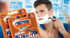 Zľava 59%: Super ľahké, rýchle a pohodlné holenie jedným ťahom s Gillette MACH 3 alebo Gillette Fusion Power náhradnými hlavicami už od 4,99 € - na výber 4 alebo 8 kusov.