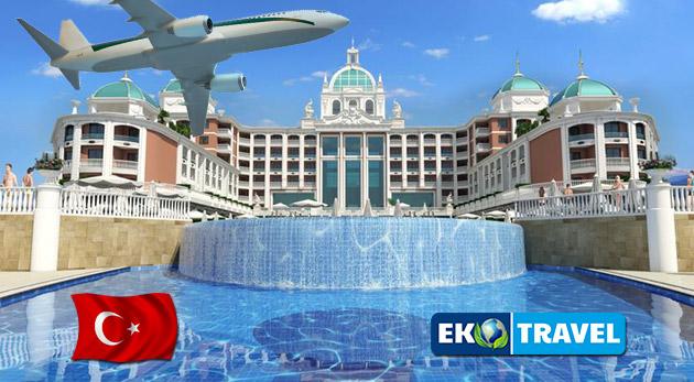 Fotka zľavy: Letný letecký zájazd na krásnu Tureckú riviéru do luxusného hotela Litore Resort & SPA***** pri súkromnej pláži na 8 dní len za 659 € vrátane Ultra All Inclusive a využívania bazénov a SPA centra.