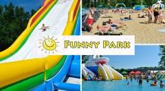 Zľava 52%: Celodenný vstup do jedinečného nafukovacieho aquaparku Funny Park už od 2,90 € - príďte si s rodinkou užiť slnečný deň plný zábavy a relaxu do kúpeľných Piešťan! Deti do 100 cm zadarmo.
