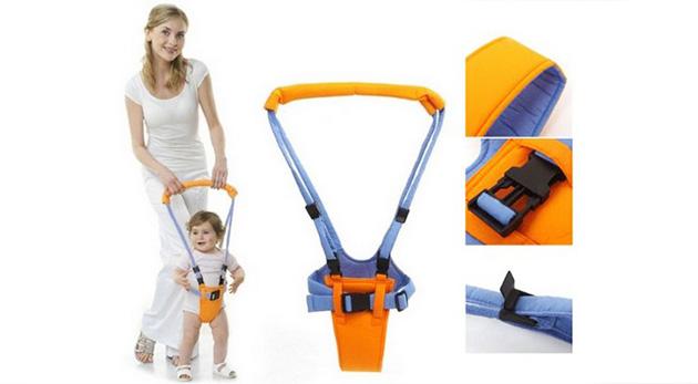 Fotka zľavy: Zvládnite prvé krôčky vášho dieťaťa pohodlne a s úsmevom s popruhmi pre učenie chôdze len za 7,99 €. Veľký rozsah regulácie dĺžky popruhov, elastický a veľmi pevný materiál.