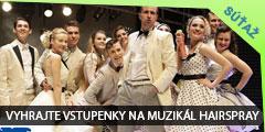 Súťaž o 2 vstupenky na svetoznámy muzikál Hairspray v Divadle Nová scéna dňa 29.4.2015
