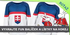 Súťaž o hokejový fun balíček - 2 dresy, šále a lístky na zápas USA - Slovensko